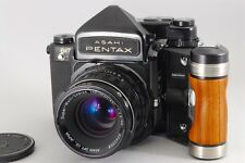 【Exc+++++】Pentax 6x7 67 TTL Medium format w/SMC T 90mm F2.8,Wood Grip,From Japan