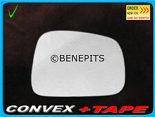 Right Side Convex Stick On Wing Mirror Glass HONDA FRV 2004-2009 + TAPE #298