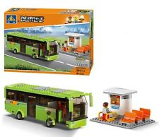 KAZI Building Block City Bus Tour Bus Ticket Office #85013 364pcs