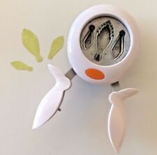 Fiskars SUCCULENTS Flower Extra-Large XL Squeeze Punch Paper Scrapbooking NEW