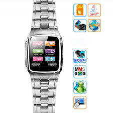 "TW810 1.6"" TFT Touch Screen Watch Mobile Cell Phone with Camera Unlocked Silver"