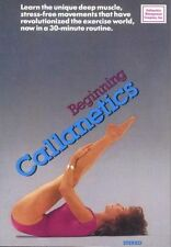 BEGINNING CALLANETICS TONING DVD NEW CALLAN PICKNEY BARRE STYLE WORKOUT SEALED