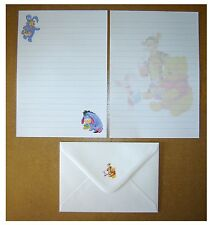 Easter Winnie the Pooh Letter Writing Paper Stationery Set