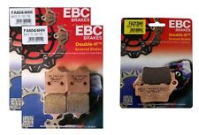 EBC HH Front + Rear Brake Pads (3 Sets) 2009-15 BMW S1000RR FA604/4HH + FA213HH