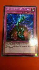 Yugioh sans fond trap hole secret rare near mint 1ST ed lcjw-EN078