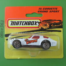 Matchbox 1994 -  Corvette Grand Sport  -  15   -    neu in OVP