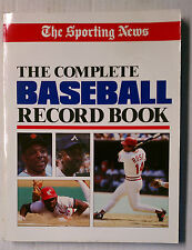 COMPLETE BASEBALL RECORD BOOK SPORTING NEWS 1986 PETE ROSE MINT MLB PAPERBACK