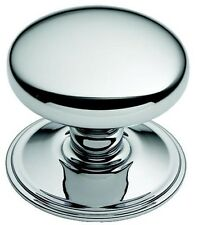 Polished Chrome Dome Shape Centre Pull Door Knob / Handle (BC1311)
