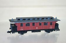 LIMA N GAUGE SJ OLD TIME 4 WHEEL 3rd CLASS COACH 1449 NICE na