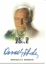 Dead Zone Donnelly Rhodes (Colonel Burt Halsey) Autograph Trading Card