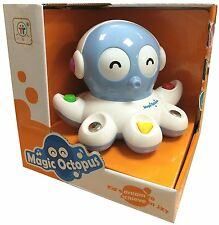 BABY TODDLERS MAGIC OCTOPUS MUSICAL SOUNDS & LIGHTS INTERACTIVE GAME TOY 88013