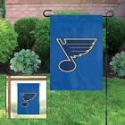 NHL St Louis Blues 15 x 10.5 Flag with Window Hanger included. Garden Flag