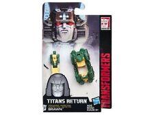 Transformers Generations Titans return Head Master Class Brawn In Stock NEW