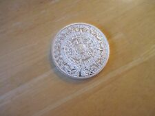 Prophecy of the Mayan Long-Count Calendar December 21, 2012 MEDAL Silver Plated