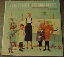 """Album By June Christy, """"The Cool School"""" on Capitol"""