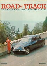1958 Road & Track Magazine: French Citroen ID-19 With Colette Garnier