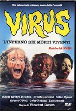 VIRUS - L'INFERNO DEI MORTI VIVENTI - DVD (NUOVO-SIGILLATO)
