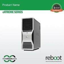 Reboot Extreme Series Dell Precision T7500 Intel Xeon Hexa Core Workstation