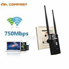 COMFAST 750Mbps Wireless Dual Band 2.4/5G Repeater Router WiFi AP Range EU Plug