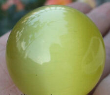 New 40mm Yellow Mexican Opal Sphere,Crystal Ball/Gemstone