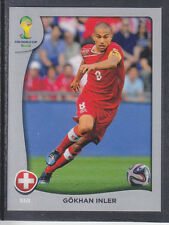 Panini - Brazil 2014 World Cup - # P13 Gokhan Inler - Switzerland - Platinum