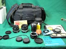 Lot of Nikon Nikkor Lenses 28mm 1:2.8 + Micro p.c Auto + Soligor Fish eye