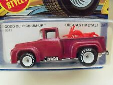 1982 HOT WHEELS - REAL RIDERS - GOOD OL' PICK-UM-UP - FORD F-100 - DIECAST
