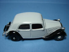 CITROEN  7CV  TRACTION  VITESSE  DIE  CAST  1/43