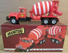 1st Gears Manitou Mack-R Model Cement Mixer National Toy Truck Show DieCast 1:34