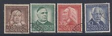 WEST GERMANY : 1953 Humanitarian Relief Fund set SG 1099-1102 used