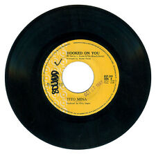 Philippines TITO MINA Hooked On You OPM 45 rpm Record
