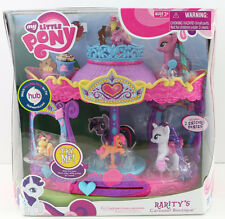 My Little Pony MLP Rarity's Carousel Boutique New Sealed Sweetie Swirl RARE OOP
