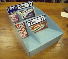 CADBURY FRY'S VINTAGE SWEET SHOP CHOCOLATE DISPLAY ADVERTISING 1960s UNUSED