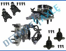 New 6pc Front Wheel Hub & Bearing Suspension Kit w/ ABS for Colorado Canyon 2WD