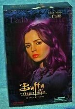 Buffy Eliza Dushku FAITH w/ SCYTHE SLAYER 12 inch Sideshow Exclusive Figure