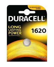 2 x Duracell 1620 3V Lithium Coin Cell Batteries CR1620/DL1620 Battery - New