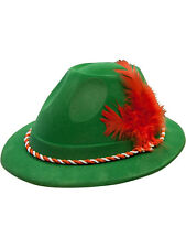 Oktoberfest Mens Ladies Accessory German Beer Bavarian Hat Adults Fancy Dress