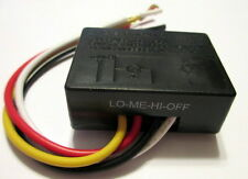 (1) 3-way Touch Switch  - for Low-Med-Hi-Off operation for Table and Floor Lamps