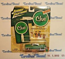 Johnny Lightning - CLUE - Mr. Green - 1957 Lincoln Premiere - 1/64 DD6