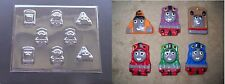 Thomas the Tank Train Pieces 4 Cupcake Chocolate Candy Soap Crayon Mold