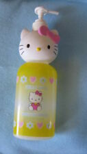 Sanrio Hello Kitty Shampoo Bottle Pump Dispenser Collectible Vintage 1976-1997