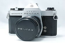 Pentax Spotmatic SP F  Silver  w/55mm F1.8 Lens  SN4540596  **Excellent+**