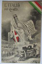 Italia, l 'italia se desta, Trentino, Istria, Lombardia, campo post 1918 (28232)
