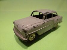 LION CAR OPEL RECORD OLYMPIA REKORD -  LIGHT GREY 1:45 - GOOD CONDITION