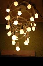 TOP 70er Designer 30-flammig Spirallampe Spirale Metall Deckenlampe/Hängeleuchte