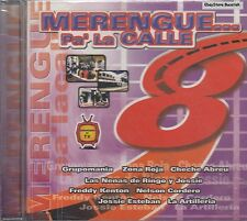 Grupo Mania Zona Roja La Artilleria Merengue Pa La Calle CD New Sealed