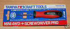 Tamiya 74121 Craft Tools, Mini 4WD (+) Screwdriver Pro for RC & Plastic Kits NIP