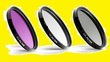 MULTI-COATED FILTER KIT 62mm CPL UV FLD  SONY 18-200 18-135 70-300 16-105 10-18