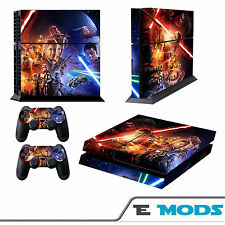 Star Wars Episode 7 PS4 Playstation 4 Console Skin Vinyl + 2 Controller stickers