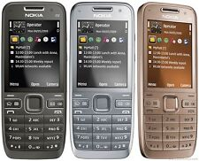 New Nokia E52 Mobile Phone Smartphone WIFI GPS - Unlocked - Grey